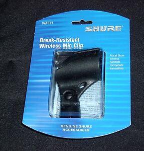Shure Break Resistant WIreless Mic Clip WA371