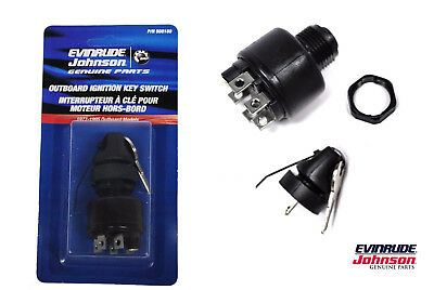 OEM Evinrude Johnson BRP Ignition Switch 77 Series 1977-1995 508180