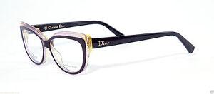 cb28feeca6 CHRISTIAN DIOR CD3282 CD 3282 ELU Purple Sparkle Eyeglass Frame ...