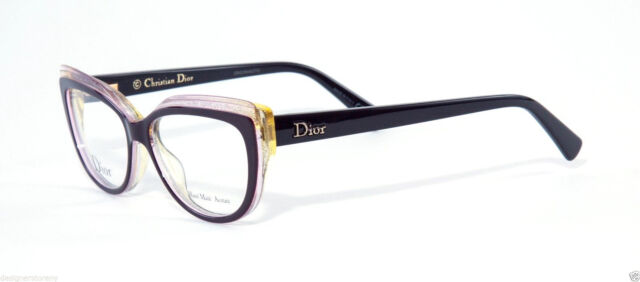 Christian Dior Cd3282 CD 3282 ELU Purple Sparkle Eyeglass Frame ...