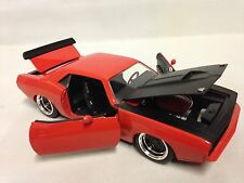 1973 Plymouth Barracuda 1:24 Scale Diecast, Collectible, Jada Toy, Oranger