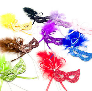 72pcs Mini Masquerade Masks Mini Mardi Gras Masks Quince
