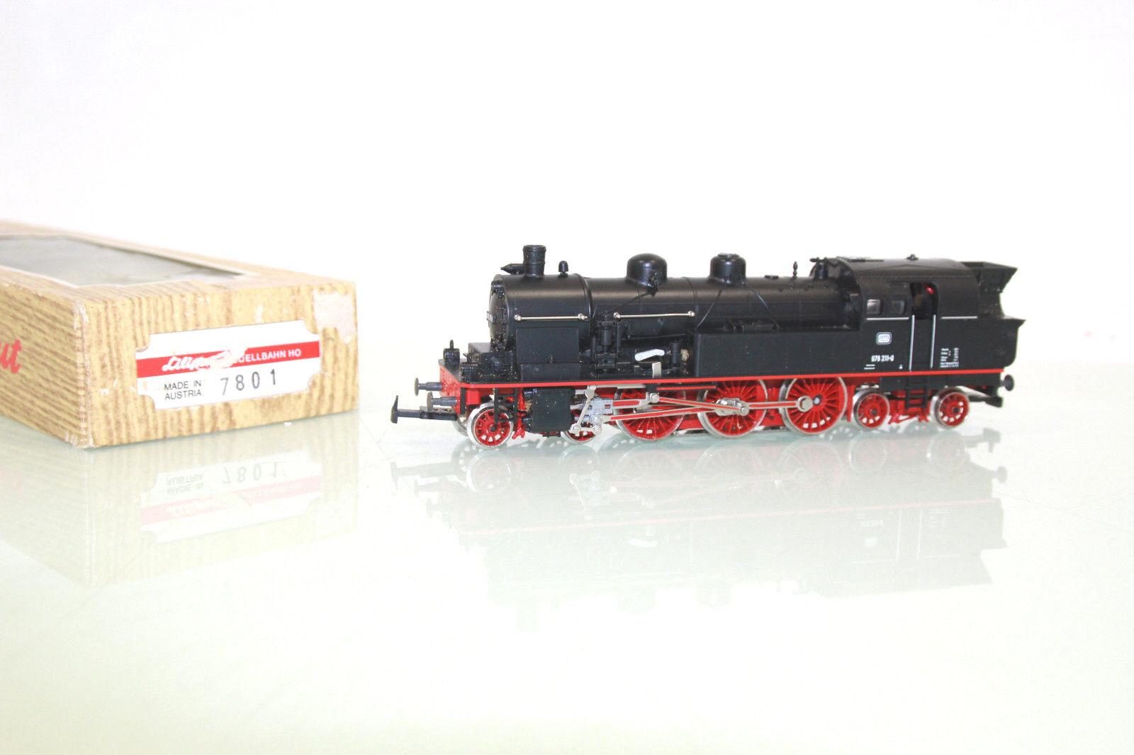 Liliput Spur h0 7801 locomotiva BR 078 211-0 delle DB in OVP  ll8684