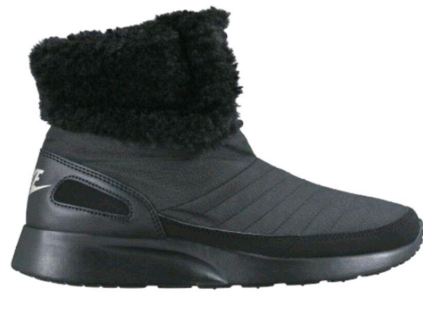 Nike Wmns Kaishi Kaishi Kaishi Invierno botas al Tobillo Alto Reino Unido 5 Negro Nuevo Y En Caja Metálico Plata 807195  tienda