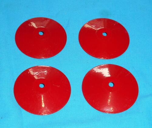 No187a rouge NEUF meccano France 4 flasques de roue