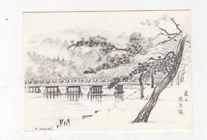 Arashiyama-Kyoto-Japan-Postcard-629a