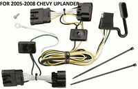 2005-2008 Chevy Uplander Trailer Hitch Wiring Kit Harness Plug & Play T-one
