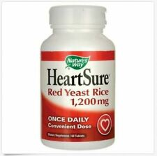 Nature's Way HeartSure Red Yeast Rice 1200mg 60 Tab