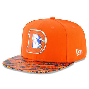 a97f52a72fe New Era 9Fifty Hat NFL 2016 On Field Color Rush Denver Broncos ...