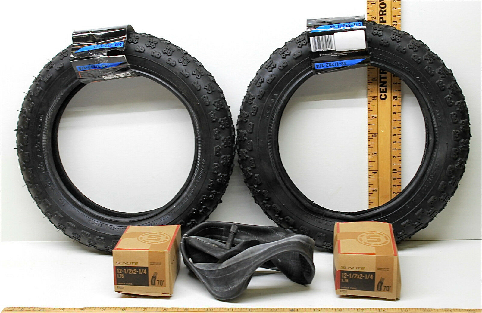 2 Kenda Kids BMX Bike Scooter Tires K-50-037  12-1 2 x 2-1 4 40 PSI + Inner Tubes  best quality best price