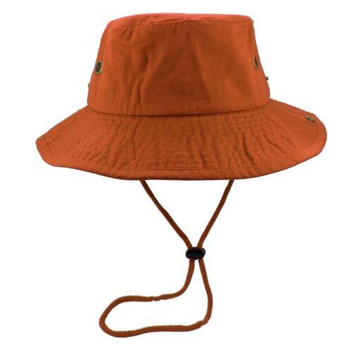Gelante Unisex 100/% Cotton Bucket Hat Fishing Camping Safari Boonie Sun Summer