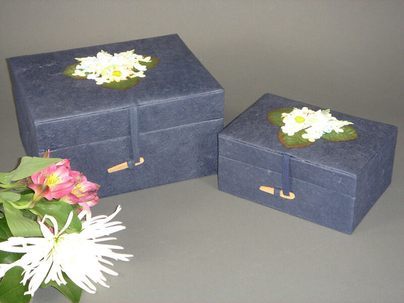 Bleu Marine Poitrine (cerceuil/Coffin/Biodégradable) Eco Friendly urne (cerceuil/Coffin/Biodégradable) Poitrine df02e1