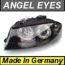 Angel Eyes HeadLights Halos Audi A3 (03-07) black Style