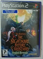 TIM BURTON'S NIGHTMARE BEFORE CHRISTMAS OOGIE'S REVENGE PS2 NUOVO SIGILLATO PAL