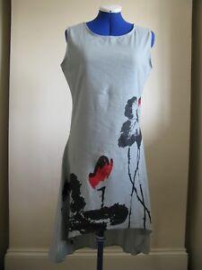 Azecool Indigo Medium Grey M Print Floral Dress Asphalt B pTUxYY