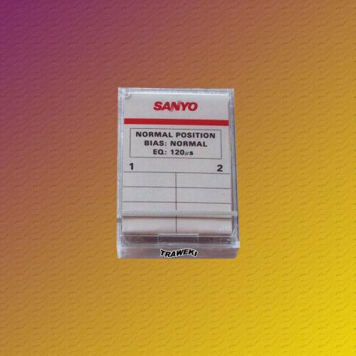 2 Stück Sanyo MC-60 Microcassetten NEU /& OVP