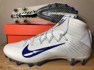 ab7358dfe11 Details about Nike Vapor Untouchable 2 CF Football Cleats White Game Royal  Sz Mens 924113-100