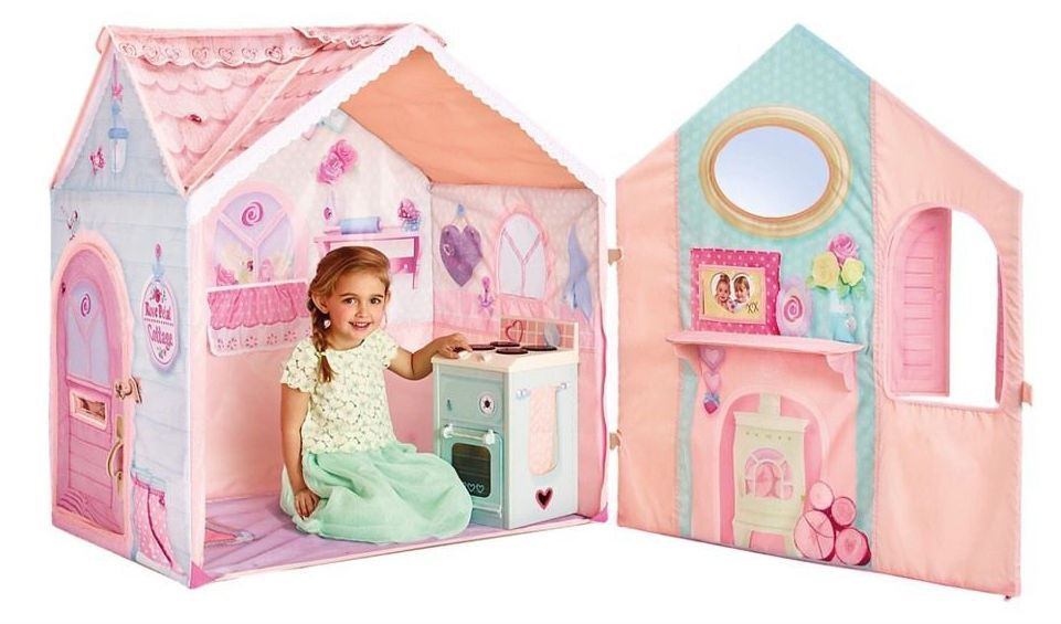 Spielhaus für Mädchen inkl. Herd