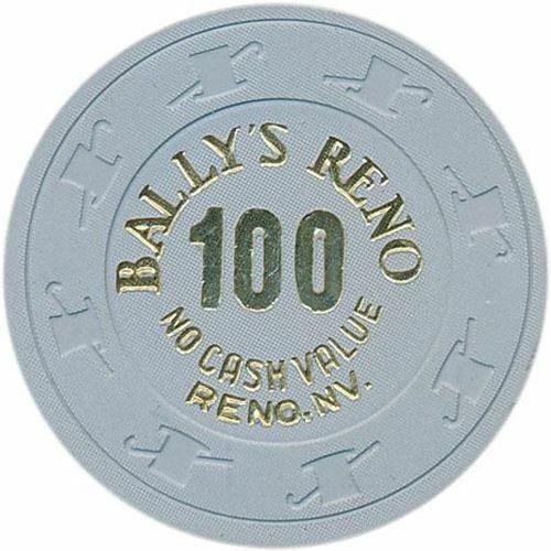 Ballys Casino Reno NV 25 NCV Chip 1980s