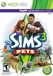 Details about The Sims 3: Pets [Xbox 360, NTSC, Real Life Simulator Cute  Animals] NEW