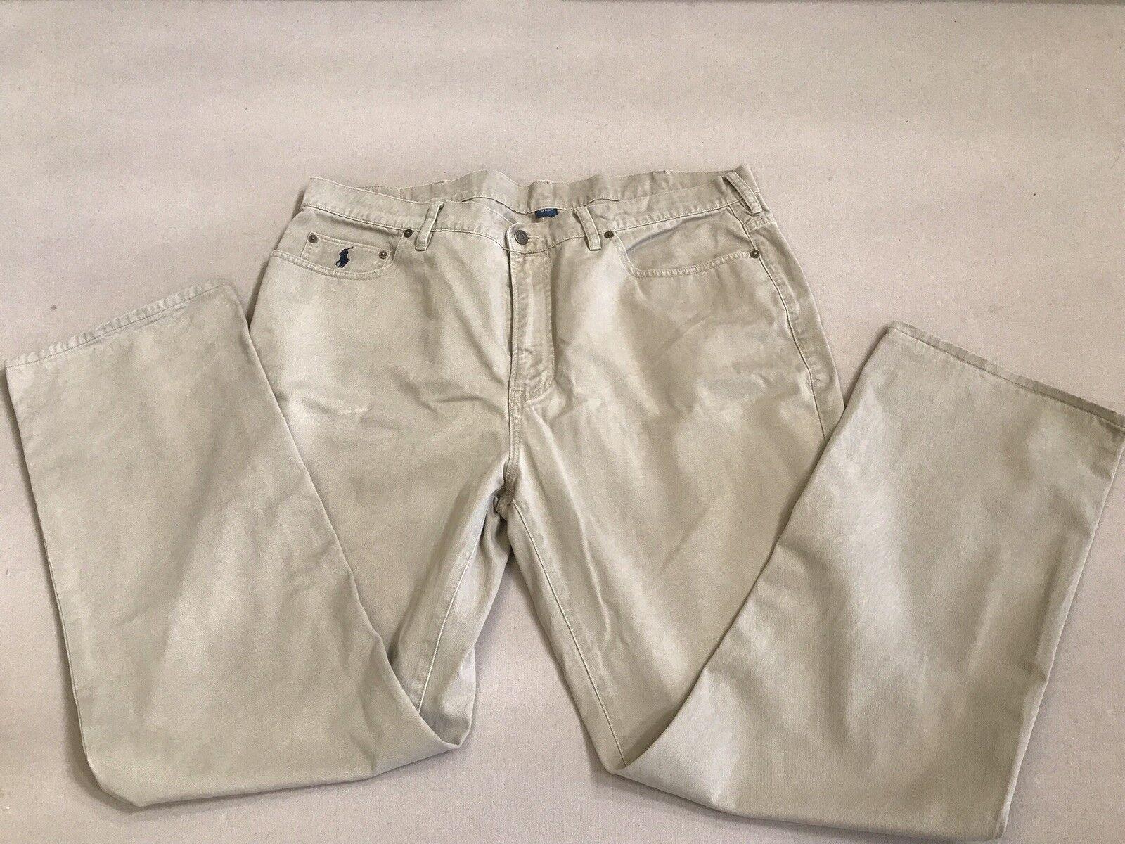 Polo Ralph Lauren Men Classic Fit Pants Size 40T-32 Men's Fashion