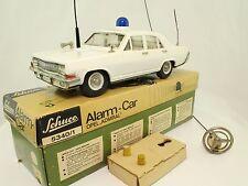 Blechspielzeug - Schuco 5340/1 Opel Admiral Alarm Car Polizeiauto in OVP - läuft