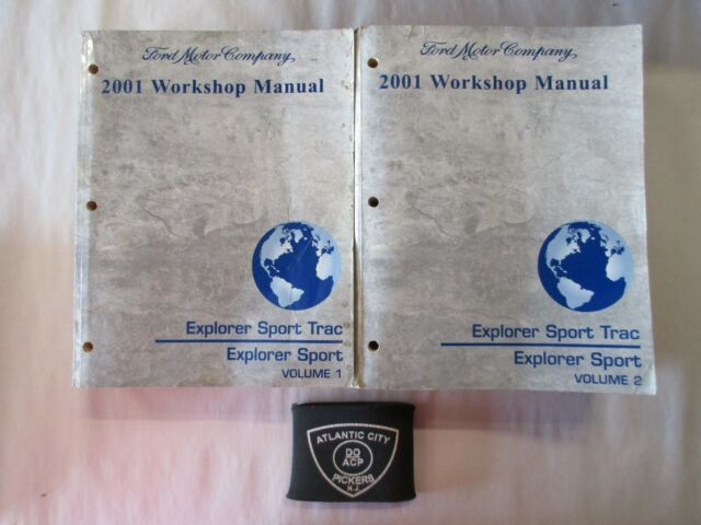 2001 Ford Explorer Sport Trac Service Shop Repair Manuals