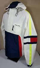 Vtg Tommy Hilfiger Jacket Windbreaker 90's 2XL Colorblock Pullover Sailing