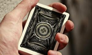 Ellusionist-Infinity-Decks-Gold-amp-silver-Bicycle-Playing-Cards-magic-trick
