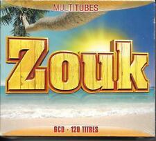 COFFRET 6 CD (CE BOX) 120T MULTI TUBES ZOUK COMPAGNIE CREOLE, KAYSHA ....NEUF