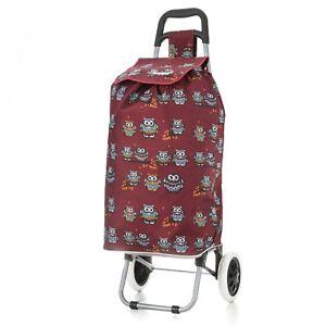 Hoppa trolley per la spesa con 2 ruote, Capienza 47 L- Carrello/borsa leggero