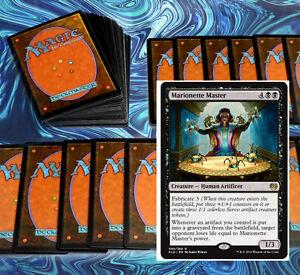 mtg-BLACK-ROGUES-DECK-Magic-the-Gathering-rare-60-cards-KAL-yahenni-gonti