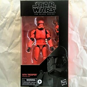 First Order Elite SITH TROOPER Star Wars The Black Series #92 6-In Action Figure