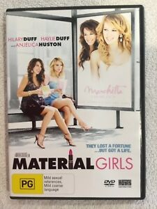 DVD-Material-Girls-Region-4