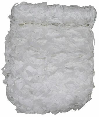 MFH Tarnnetz 3 x 2 m weiß mit PVC-Tragebeutel Tarnplane Sichtschutz Tarnung NEU