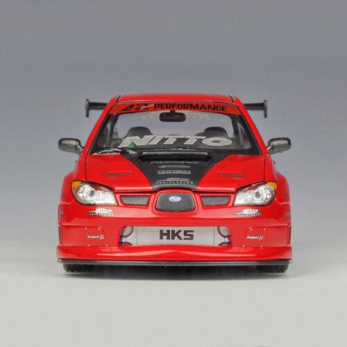 1:24 Scale WELLY Subaru Impreza WRX STI Rally Racing Car Diecast Model