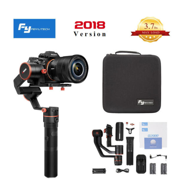 Feiyu Tech a1000 3-Axis Gimbal Handheld Stabilizer for Cameras 1 7 KG  Payload