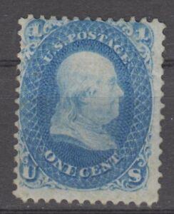 US # 63  VF Gum series 1861 cv $300