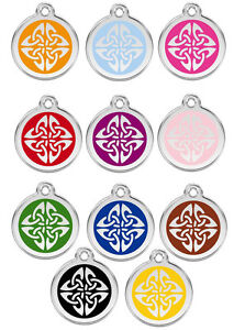 Red-Dingo-Tribal-Arrows-Engraved-Dog-Cat-ID-identity-Tags-Discs-1TA