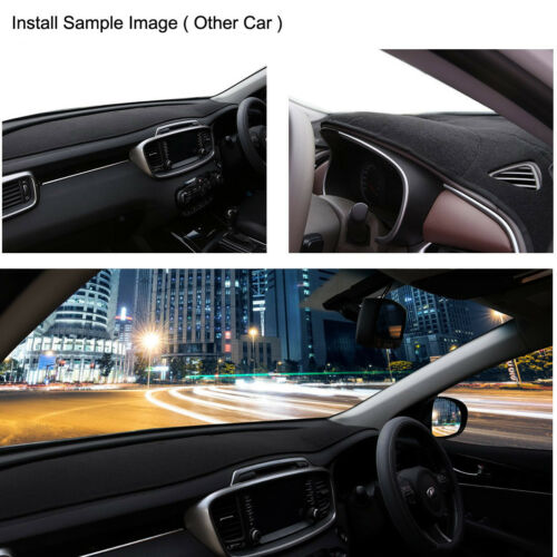 Antideslizante Alfombra Negra DashMat Dash para 2012-2016 Mazda CX-5 Unidad RH