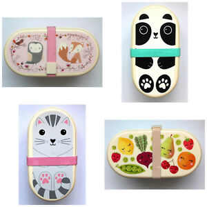 sass belle bento box brotbox brotdose lunchbox sandwich kindergarten picknick ebay. Black Bedroom Furniture Sets. Home Design Ideas
