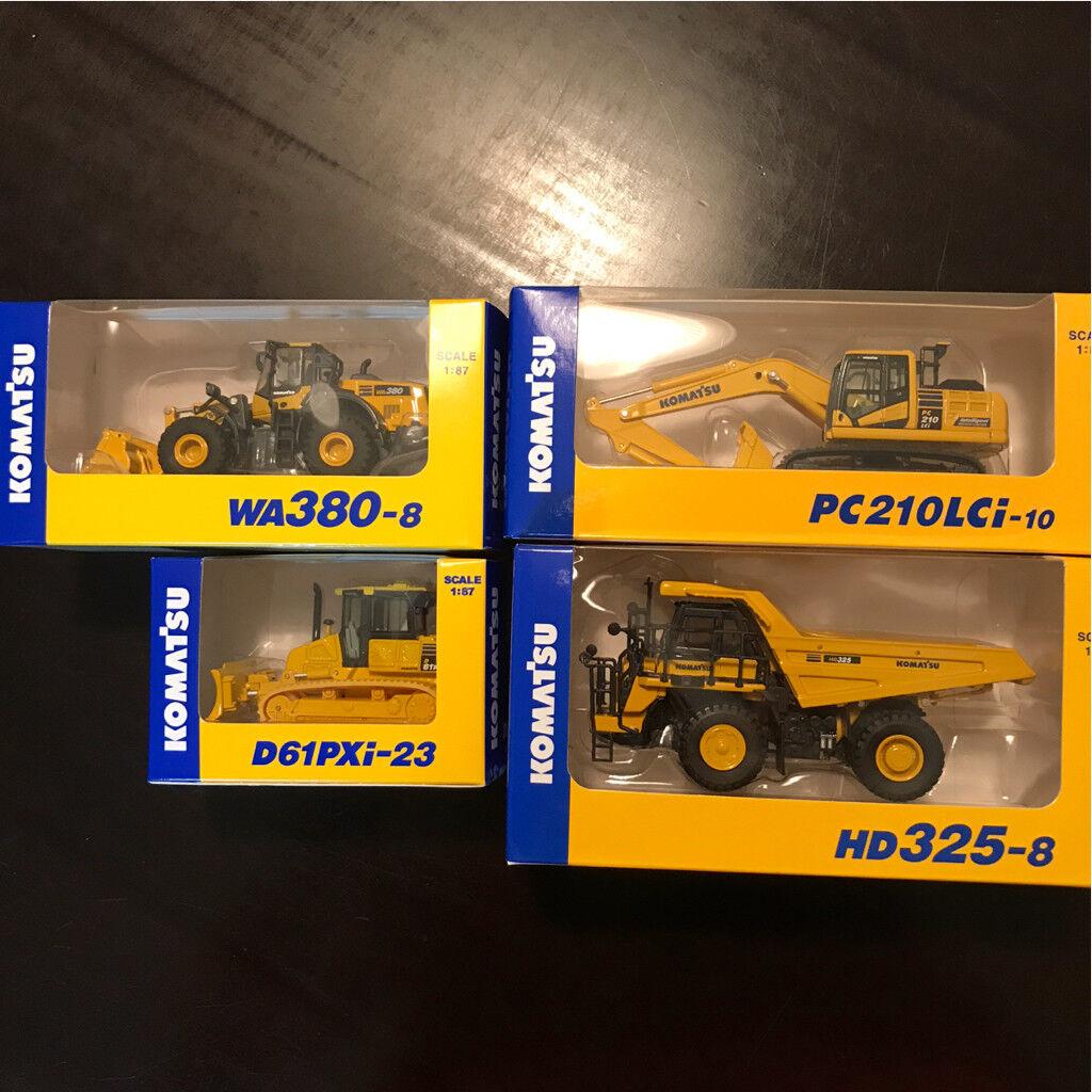 Komatsu HD325-8 WA380-8 PC210LCi-10 D61PXi-23 FE25-1 4pcs Set F S