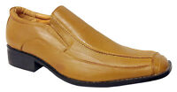 Mens Slip On Shoes Smart Wedding Office Dress Work Party Dance Formal Casual New