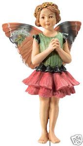 Flower-Fairy-Zinnie-Serie-16-Deko-Figur-Elfe-Fee-Blumenkind-NEU