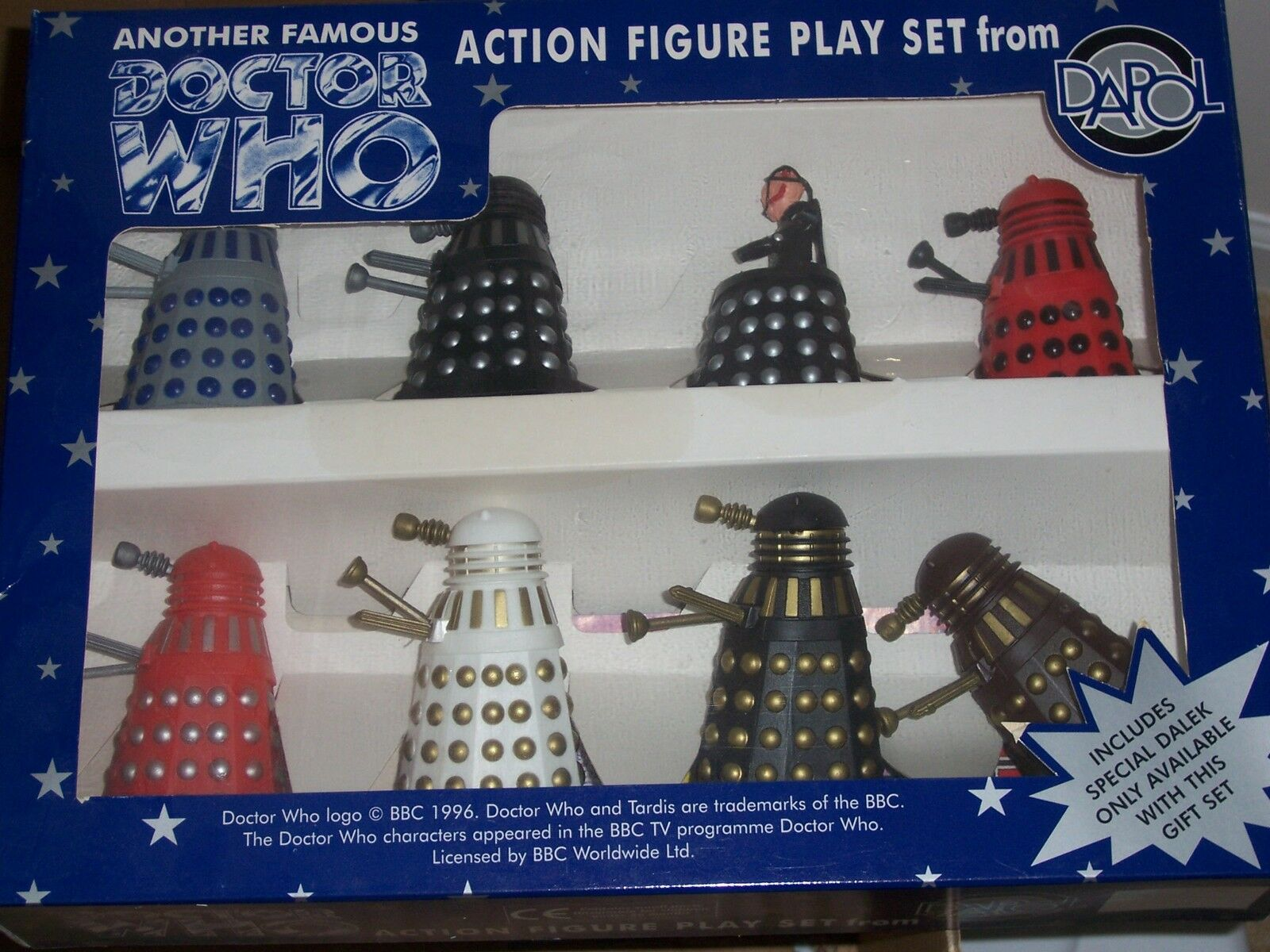 Doctor Who Dapol Limited Edition Davros & Dalek Dalek Dalek Army Action Figure Set 347d15
