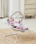 144 Baby Grey Elephant First Bouncer With Soothing Music Vibration /& Toys 0m
