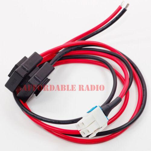 4 pin 12AWG DC power cable Yaesu Icom IC-7100 IC-7300 IC-7000 IC-7610 Alinco