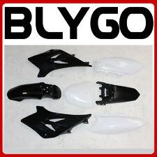 BLACK Plastics Guard Fairing Fender Kit TTR50 STYLE 50cc 70cc PIT PRO Dirt Bike