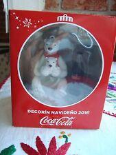 COCA COLA X-MAS christmas BEAR Navidad Mexican edition 2016 brand new decorin
