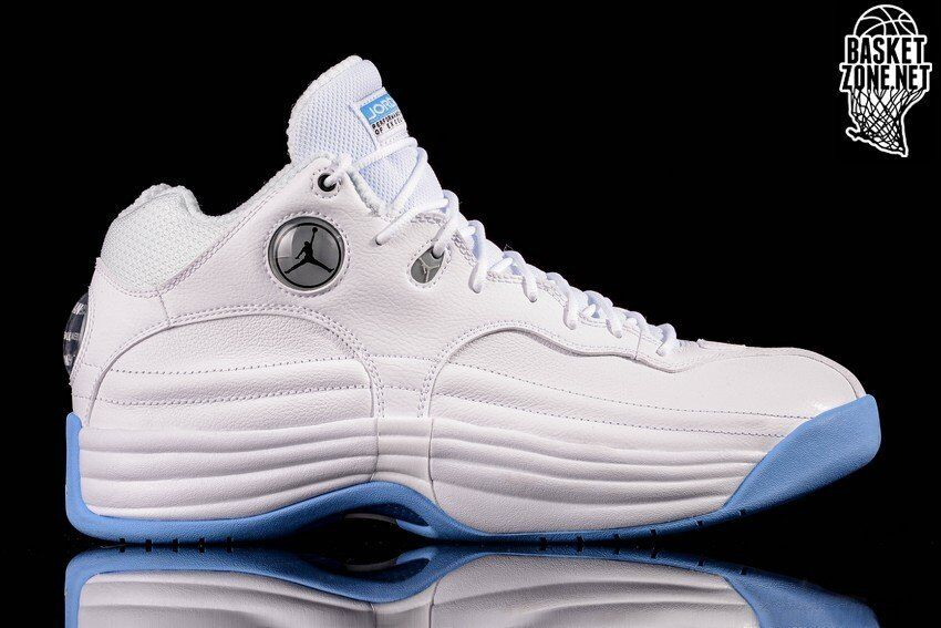 Nike Air Jordan Jumpman Team 1 UNC Retro Size 13. 644938-107 2 3 4